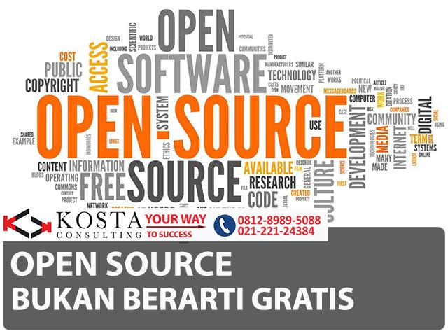 open source bukan berarti gratis, software license, freeware, free, software erp, idempiere, kosta-consulting, erp indonesia, idempiere